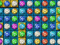Bejeweled mit Affenkugeln